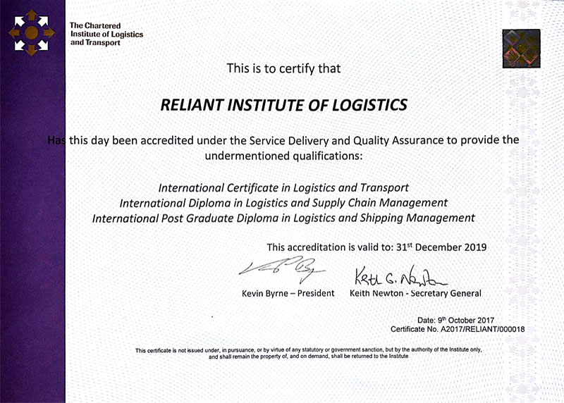Acreditation-Logistics Courses | logistics courses in ...