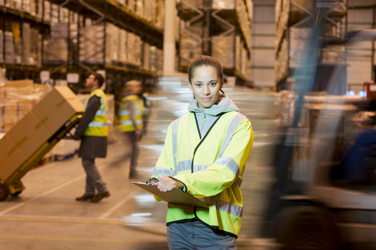 Women in logistics